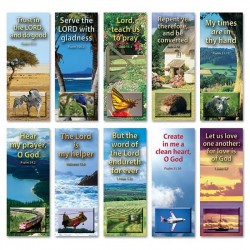 KJV BOOKMARKS - Set of 10 (A)