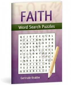 Faith Word Search Puzzles