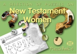 New Testament Women Puzzle Book 4