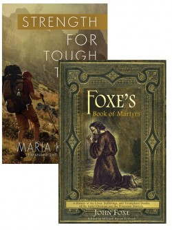 Foxe's Book of Martyrs and Strength for Tough Times SET