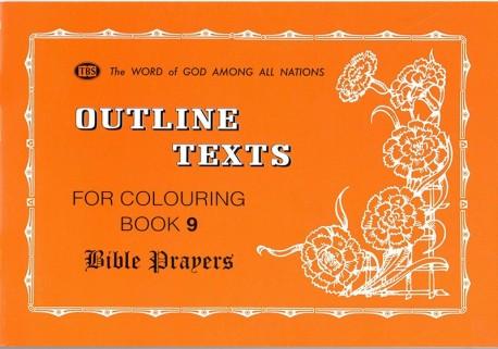 Bible Prayers - Coloring Book 9