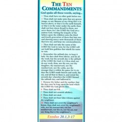 BOOKMARK - 10 Commandments (A)