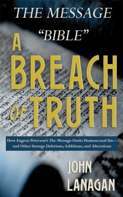 "E-BOOKLET - The Message ""Bible"" - A Breach of Truth"