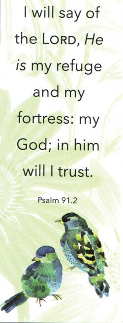 BOOKMARK - Psalm 91:2 (C)